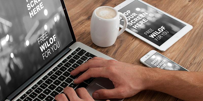 macbook diseño web sevilla